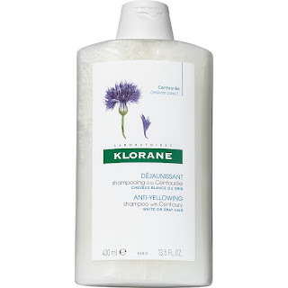 klorane anti yellowing shampoo for grey hair