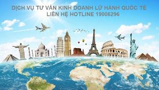 Xin giấy phép kinh doanh lữ hành quốc tế trọn gói trên toàn quốc