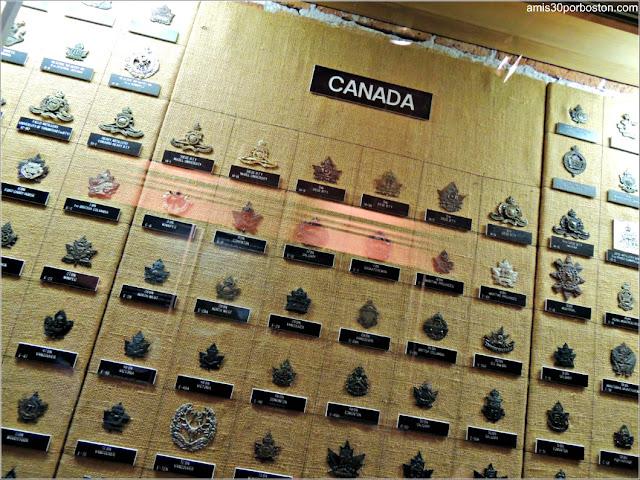 Exhibición de la Colección de Medallas en la Ciudadela de Quebec
