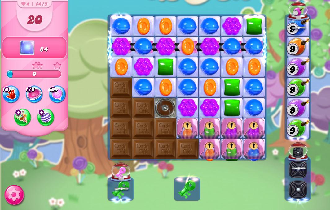 Candy Crush Saga level 6419