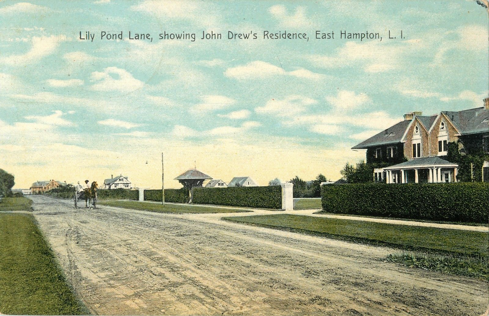 Old Long Island The John Drew Residence
