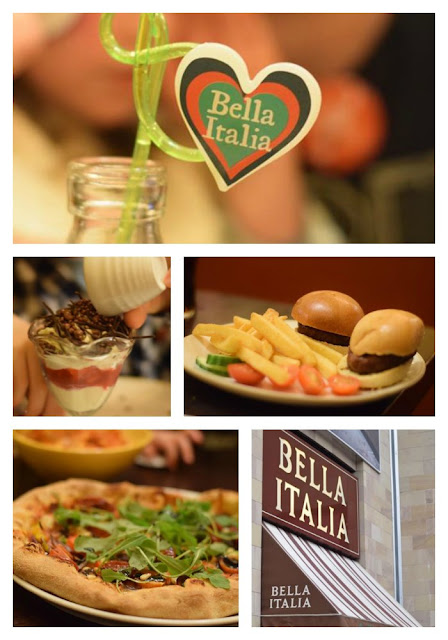 bella italia kids in fancy dress eat free
