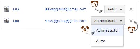 autor, administrator, blog, blogspot, jak dodać