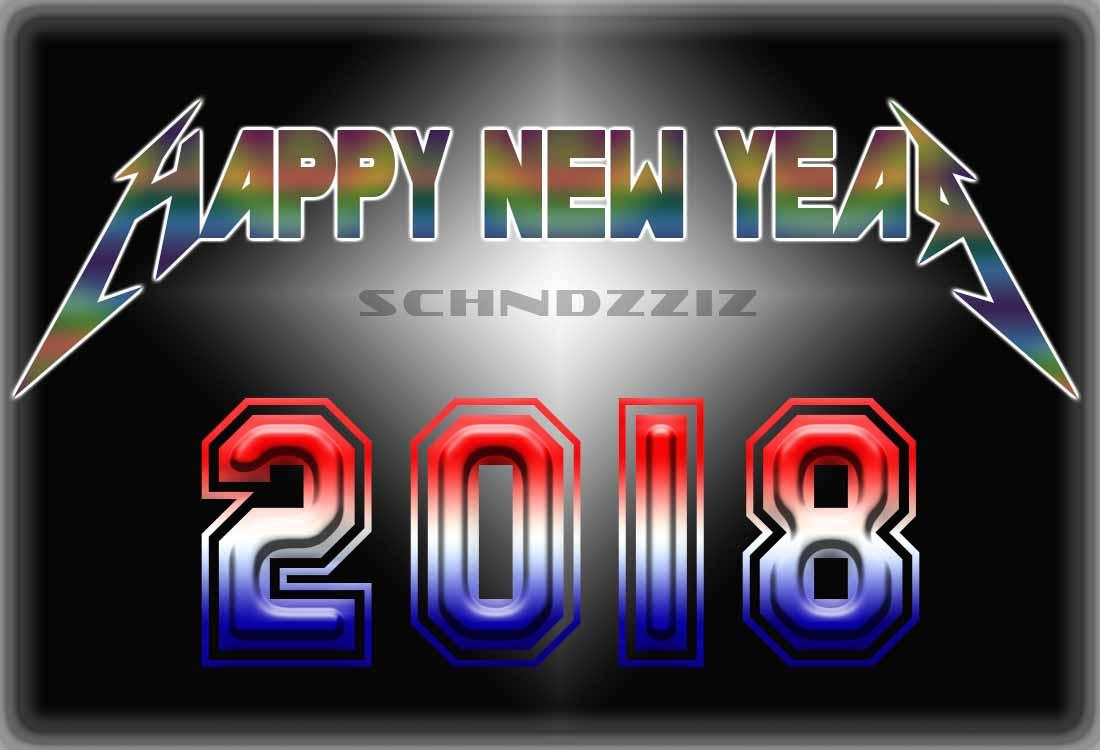 60 Koleksi Gambar Selamat Tahun Baru 2018 (Kartu Tahun Baru