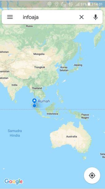 History Google Maps