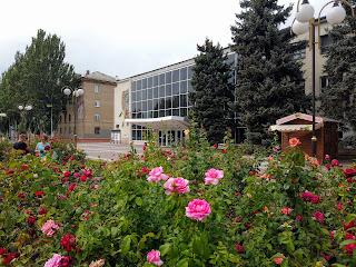 Мелітополь. Площа Перемоги