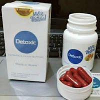 Detoxic natural original 100% Obat herbal alami Anti parasit cleanse & detox support