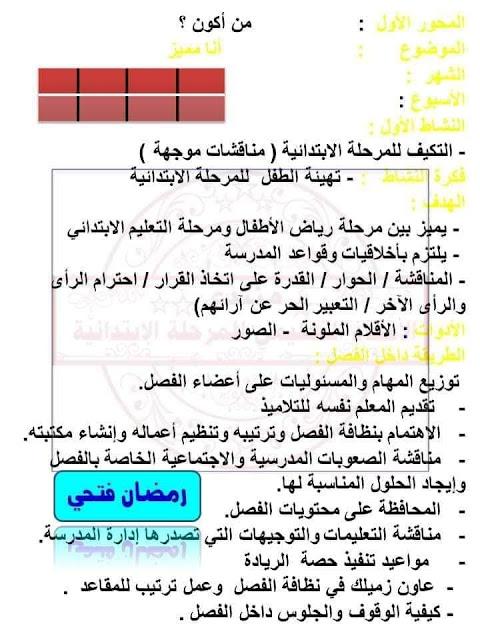 نموذج استرشادى دفتر تحضير التوكاتسو مع تحضير أربعة نماذج استرشادية 9