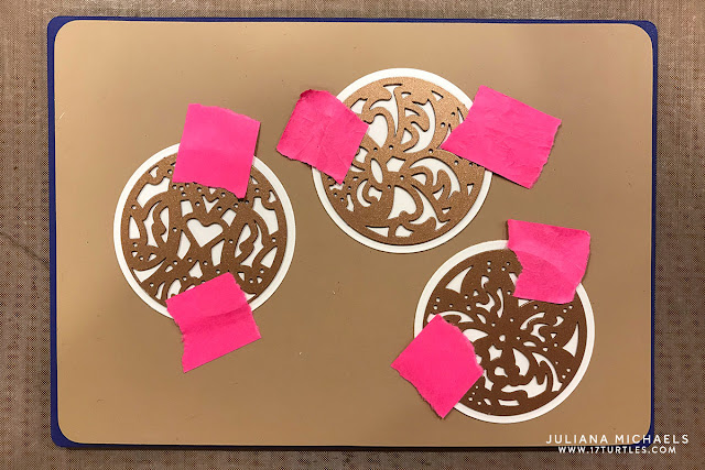 Embossing with Spellbinders Dies