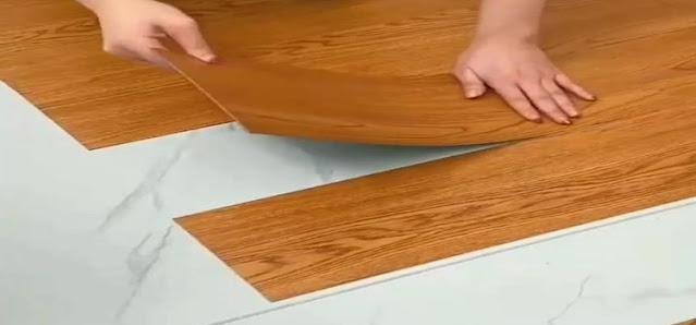 kelebihan lantai kayu tempel