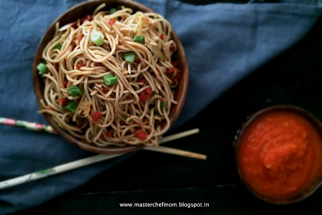 Chowmein | Vegetable Stir Fry Noodles