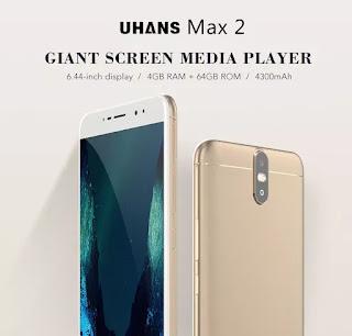 UHANS Max 2 4G Phablet