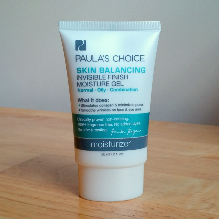 Paula's Choice Skin Balancing Invisible Finish Moisture Gel tube