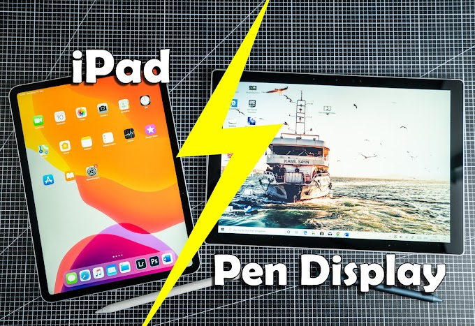 Which Better, iPad vs Pen Display