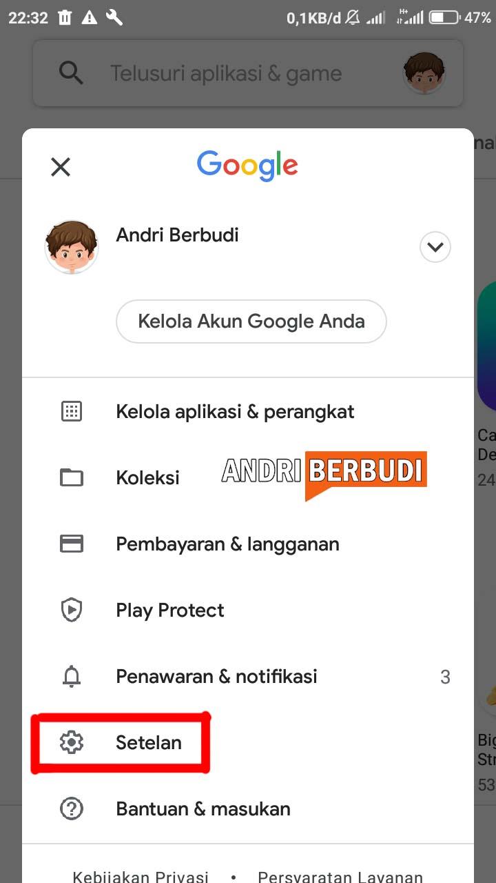 Cara Setting agar Aplikasi Tidak Update Otomatis pada Android