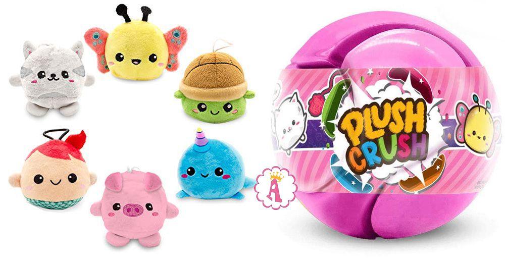 Игрушка 2019 года мяч пазл с мягкой игрушкой сюрпризом Plush Crush