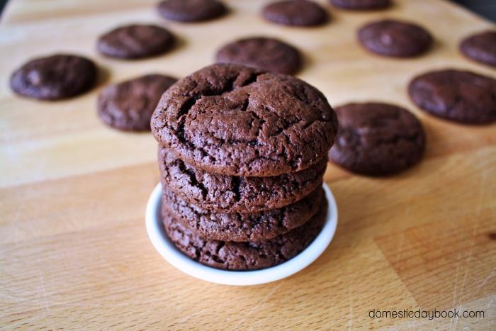 Chewy Fudgy Brownie Cookies