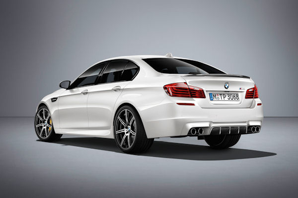 BMW M5 Competition Edition rear