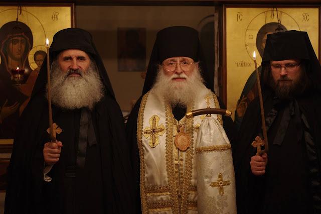 Монашеские постриги в Старостильной Болгарии, в которых принял участие Преосвященнейший епископ Анфим, совершил Митрополит Фотий. ФОТО