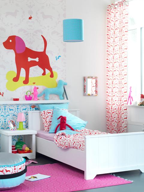 dormitorio infantil color