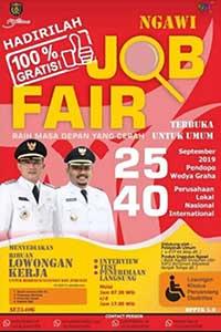 Job Fair Ngawi September 2019