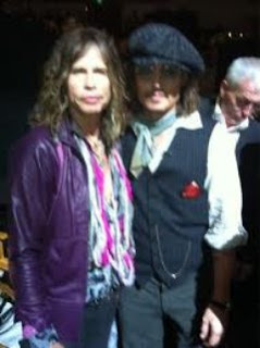 johnny depp steven tyler