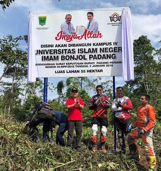 Trabas di Tarok City, Gubernur Singgah di Pemandian Lubuk Bonta