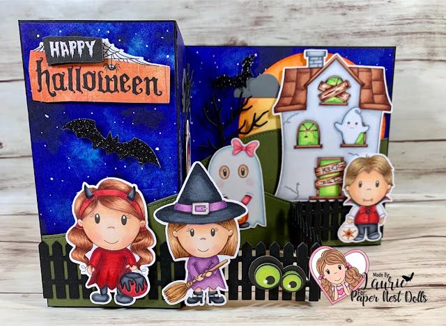 Spooky Z-Fold Halloween Card