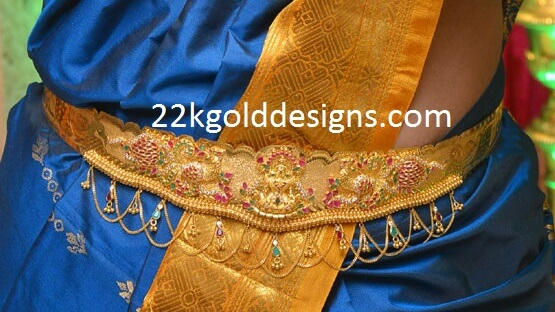 Latest Gemstone Vaddanams Designs 2016