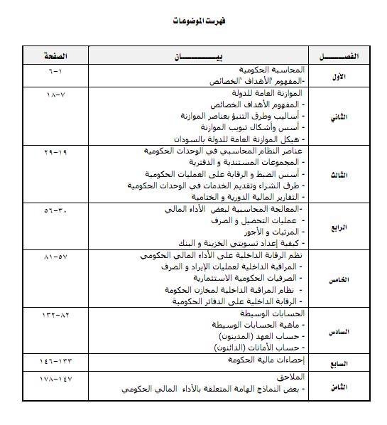 كتاب المحاسبة الحكومية - النظرية والتطبيق