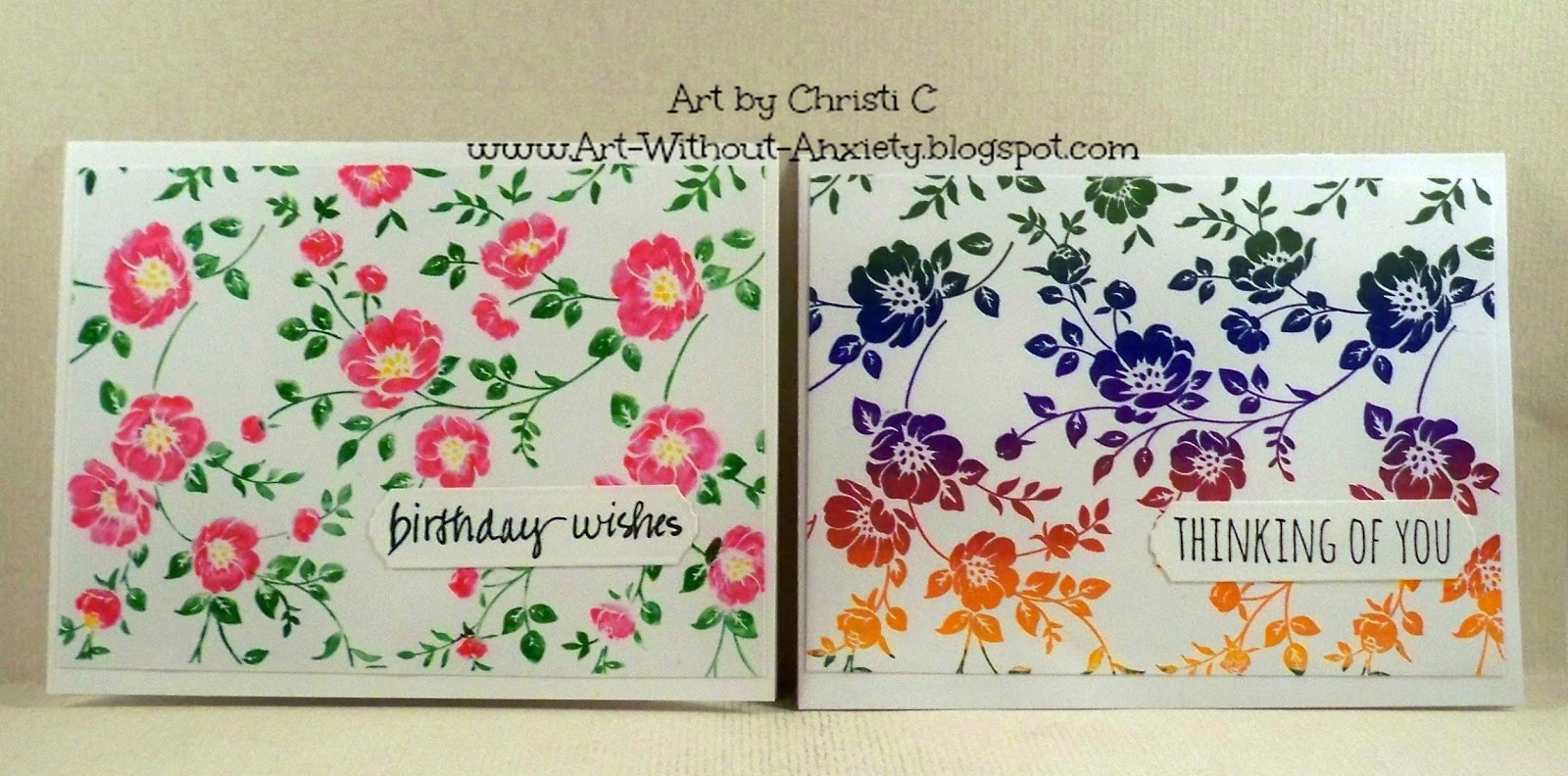 Art without anxiety april showers bring may flowers for the other one who doesnt like rainbows to make it easier to describe each card ive divided the cards by the sentiment but here is a picture of the mightylinksfo