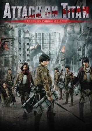 Watch Online Attack On Titan 2015 Hindi Dual Audio BluRay 850Mb 720p Full Movie Download bolly4ufeee.in