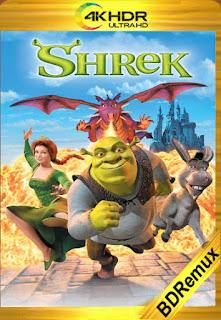 Shrek (2001) [4K HDR REMUX] [Latino-Inglés] [LaPipiotaHD]