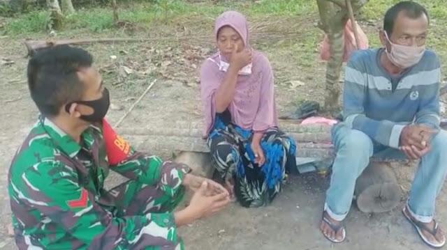Anak Buruh Cuci Baju Lulus Jadi Prajurit TNI