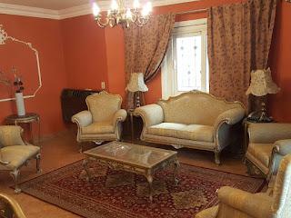 شقة مفروشة للايجار بالحى الاول التجمع الخامس شارع التسعين الرئيسى بالقاهرة الجديدة