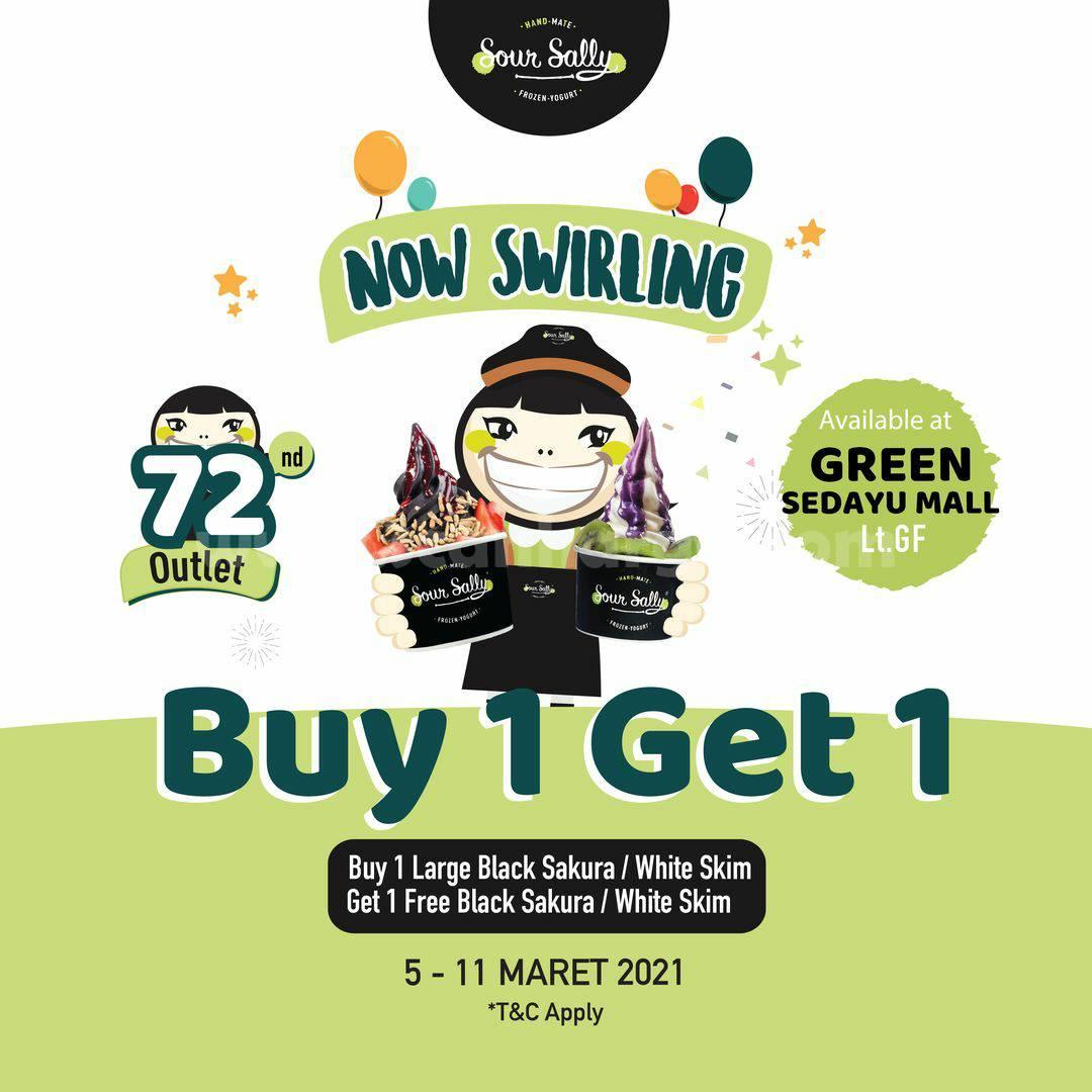 SOUR SALLY Green Sedayu Mall Rand Opening Promo BELI 1 GRATIS 1