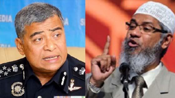 Polis Arah Batal Program Dr Zakir Naik