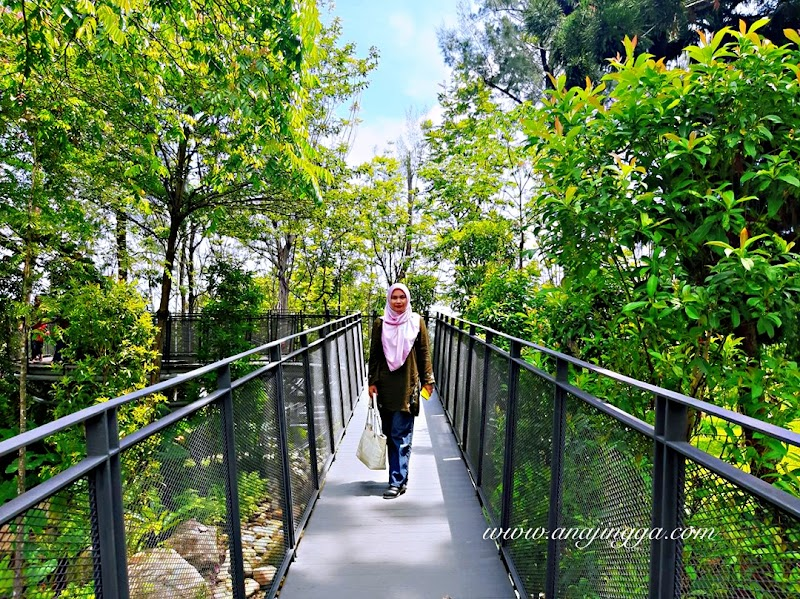 Banjaran Titiwangsa Canopy Bridge Tarikan Terbaharu Taman Tasik Titiwangsa