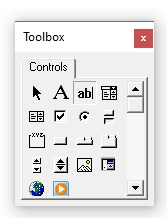 TextBox control type is selected