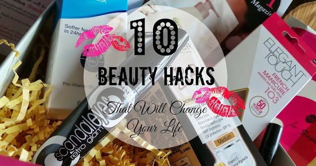 10 BASIC BEAUTY HACKS