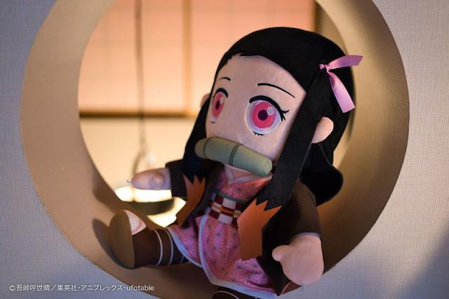 Nezuko de Kimetsu no Yaiba inspira un adorable peluche