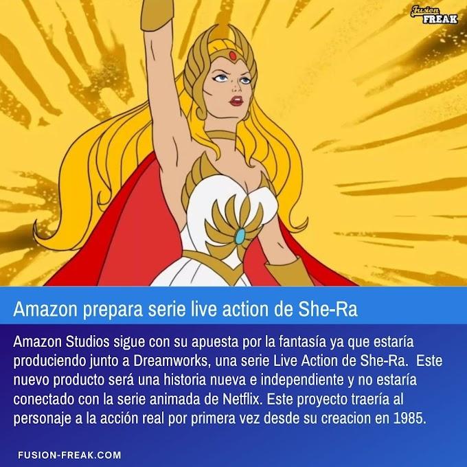 Amazon prepara una serie Live Action de She-Ra