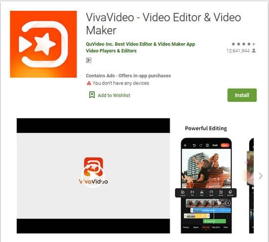 تعديل الفيديو على الهاتف مجاناً