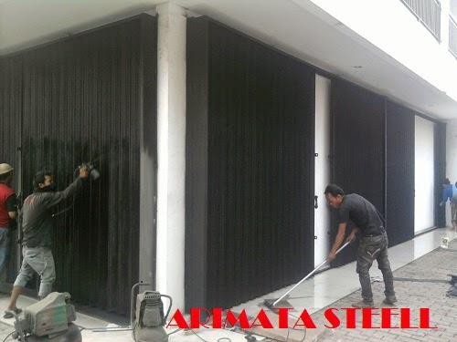 gambar untuk harga pasang folding gate di Tangerang