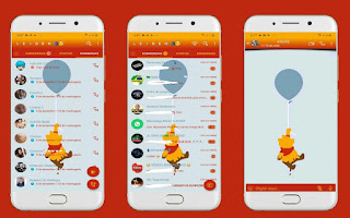 Pooh 2 Theme For YOWhatsApp & Fouad WhatsApp By Leidiane