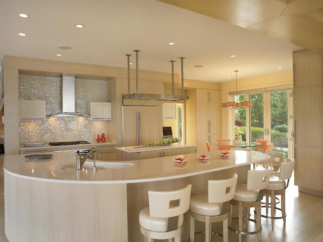 Tủ bếp đẹp và tiện dụng - Mẫu số 5