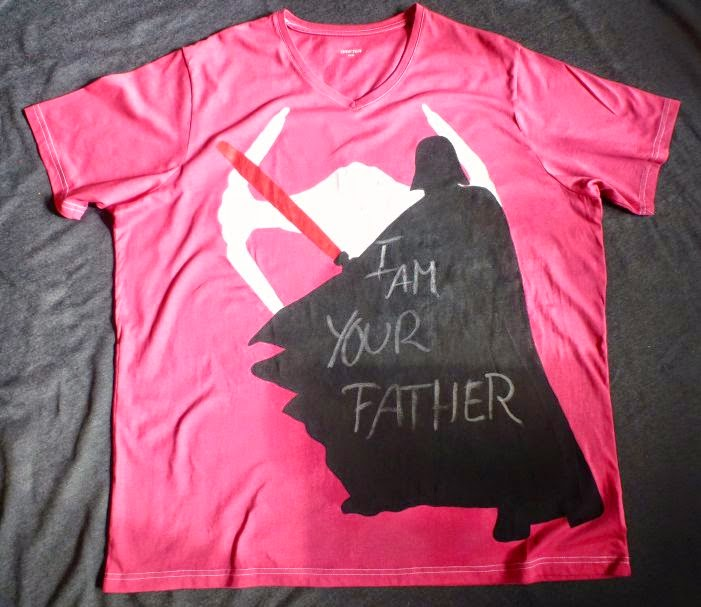 Darth Vader Shirt mit Spruch: I am your father