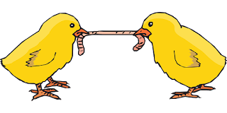 A comer los pollitos amarillos