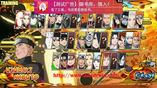 Download Naruto Senki NSUNS by SandyBagus Apk