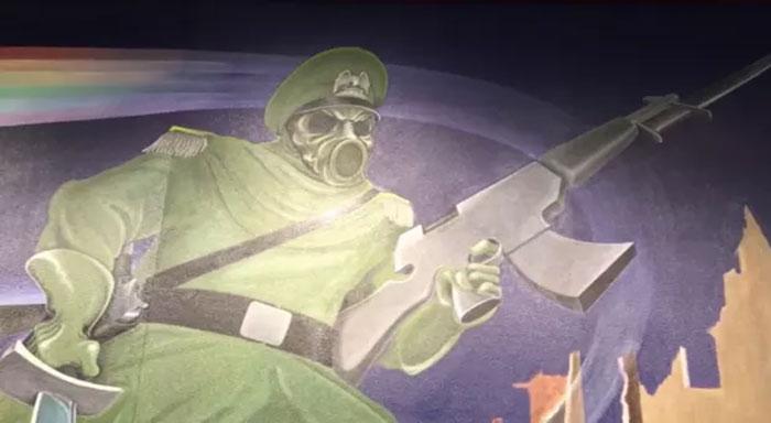 Ada Lukisan Dinding Bertema Nazi di Bandara Denver